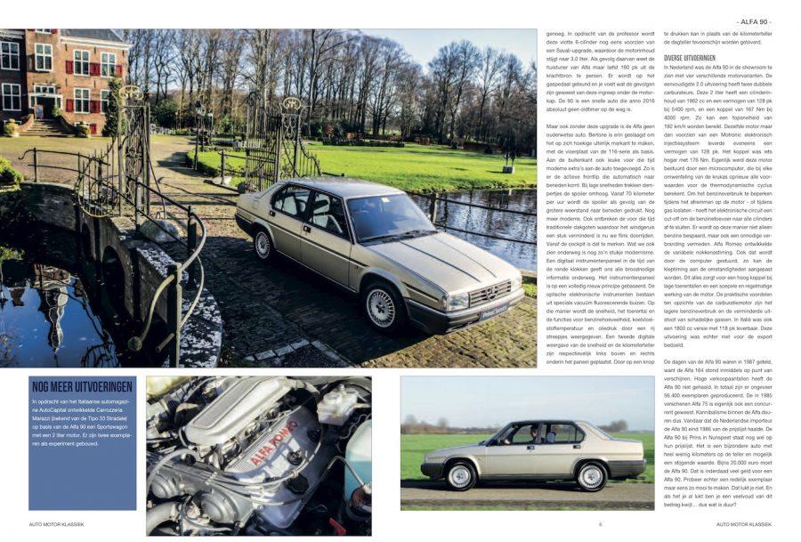 Auto Motor Klassiek, Alfa Romeo 90