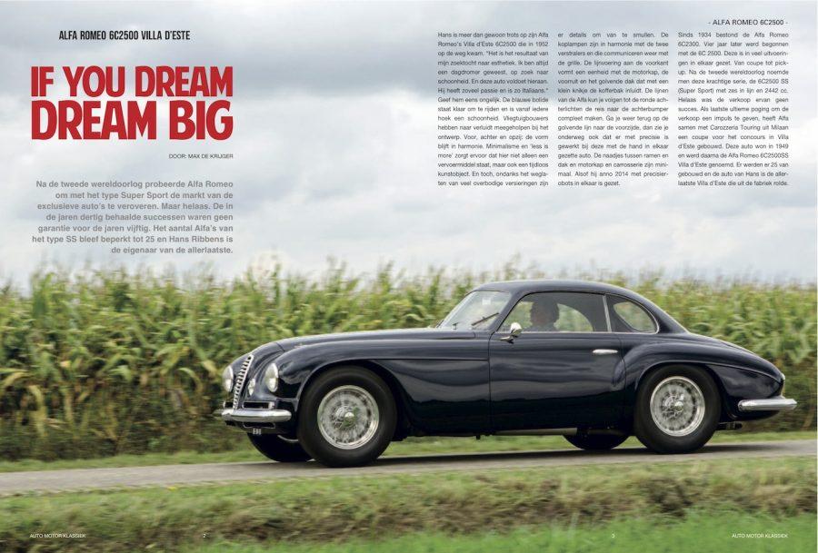 Auto Motor Klassiek, Alfa Romeo Villa d'Este
