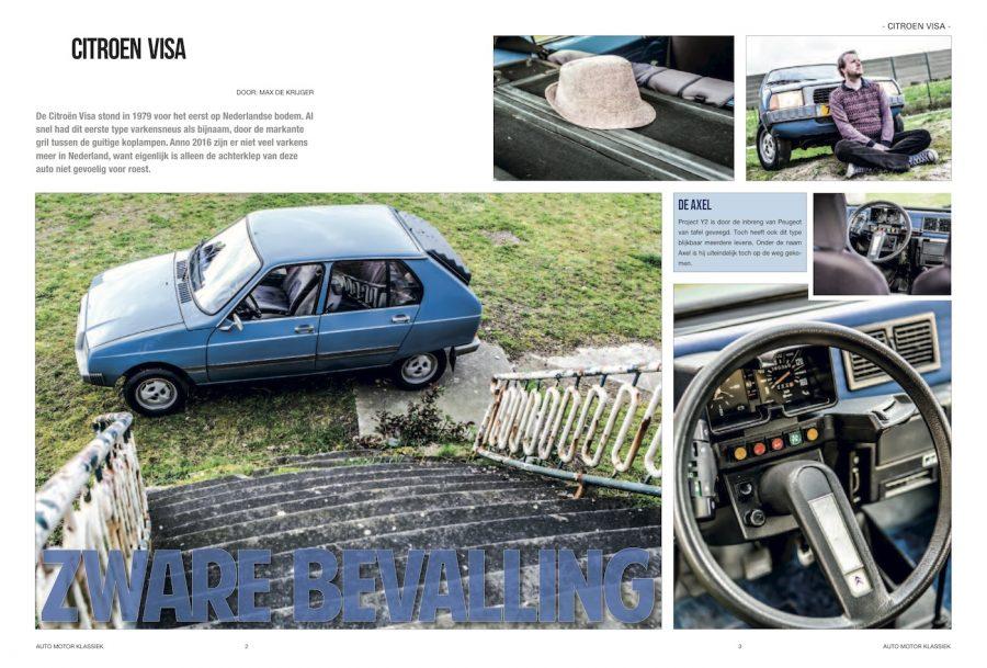 Auto Motor Klassiek, Citroen Visa
