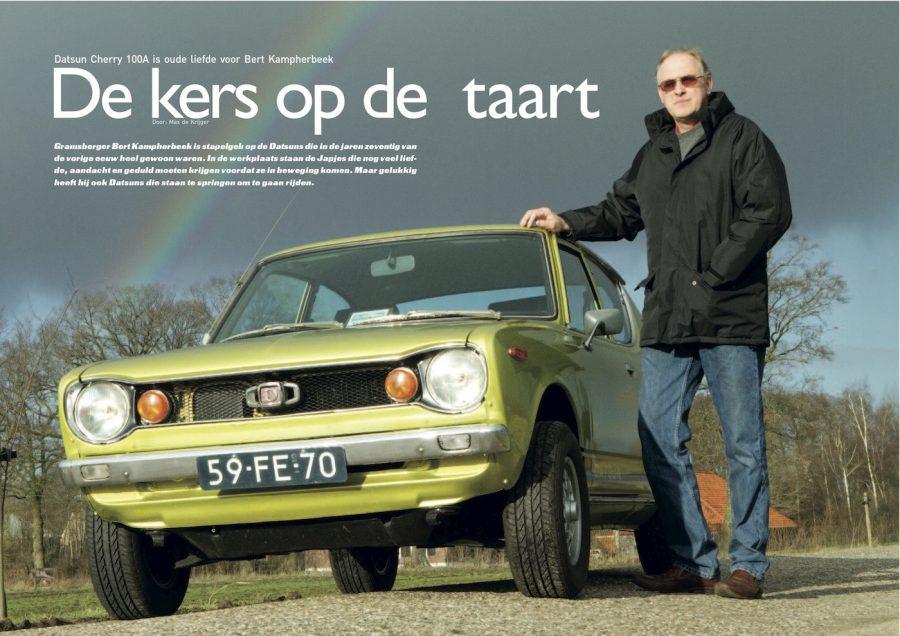 magazine Het Automobiel, De kers op de taart