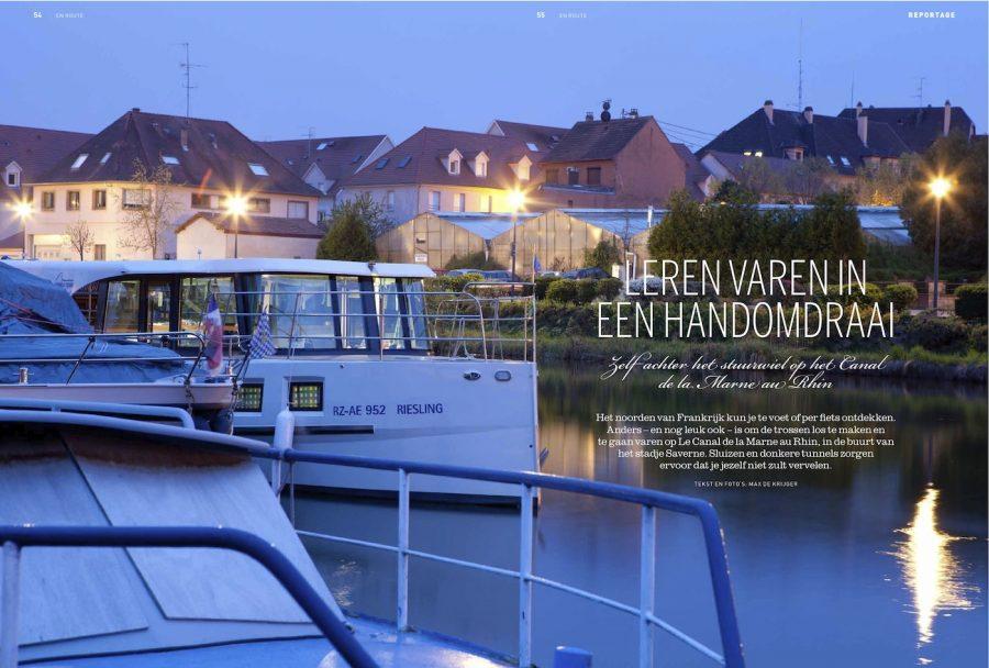 Magazine En Route, Varen op kanaal Strassbourg