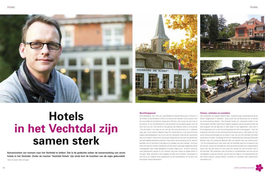 Editie Vechtdal, Hotels Vechtdal
