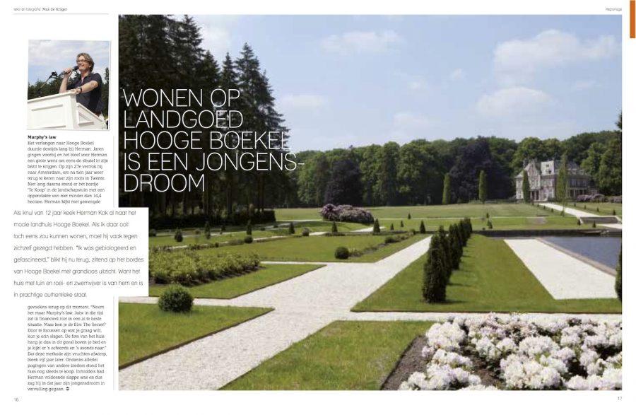 Magazine TwenteLife, Hooge Boekel