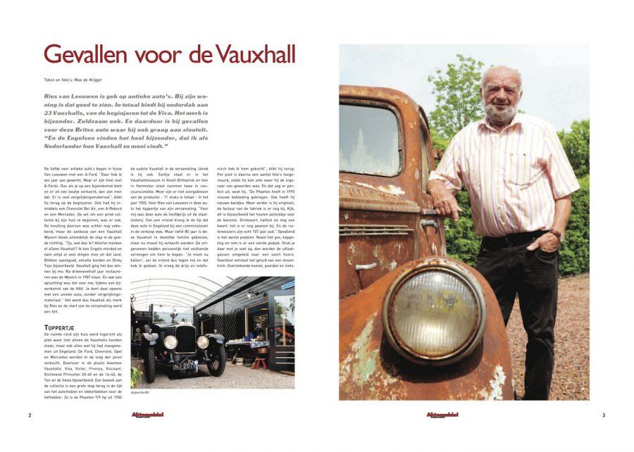 Magazine Het Automobiel, Vauxhall