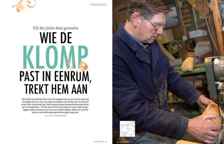 Noorderland, Klompenmakerij Eenrum