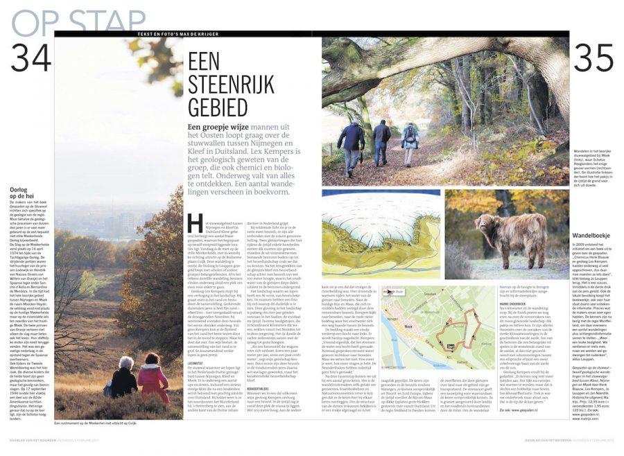 Een steenrijk gebied, Dagblad van het Noorden