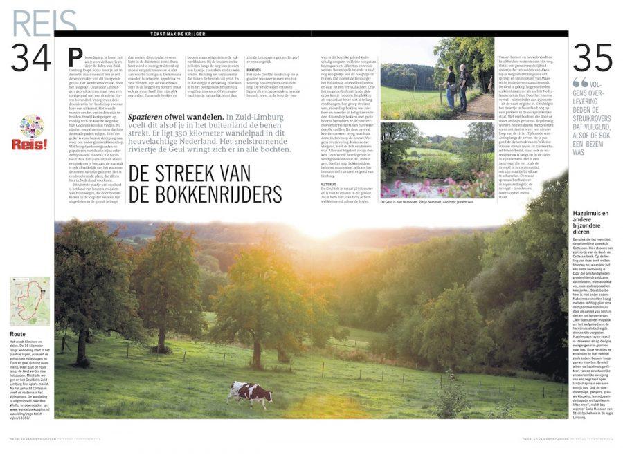 De streek van de bokkenrijders, Dagblad van het Noorden