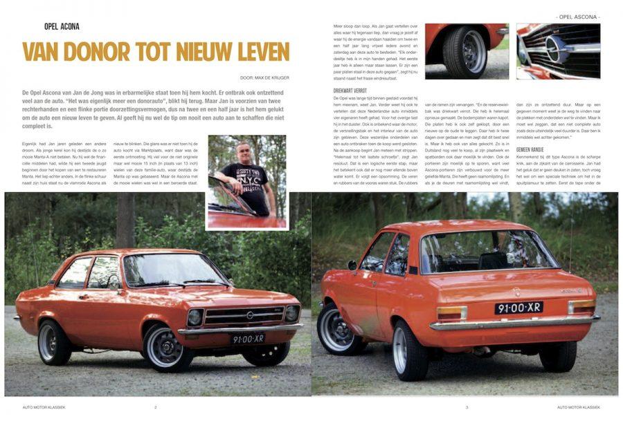 Van donor tot nieuw leven, Auto Motor Klassiek