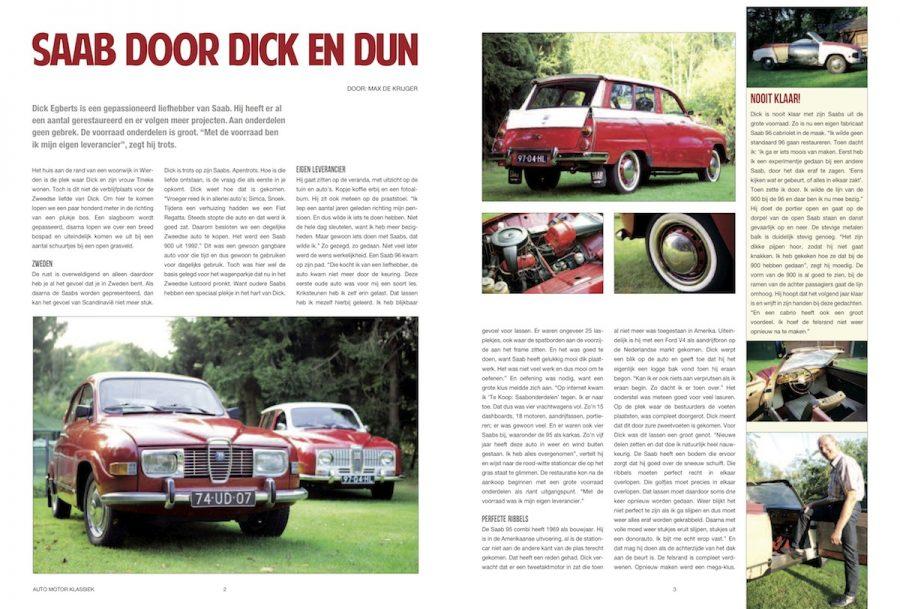 Saab door dick en dun, Auto Motor Klassiek